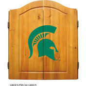 Michigan State Dart Cabinet