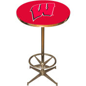"University Of Wisconsin 40"" Pub Table"