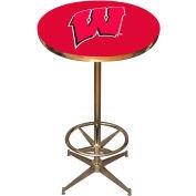"University Of Wisconsin 40"" Pub Table"