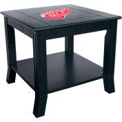 """Detroit Redwings 24"""" Side Table"""