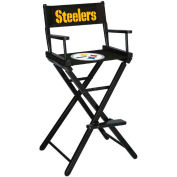 Pittsburgh Steelers Bar Height Director Chair