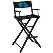Carolina Panthers Bar Height Director Chair