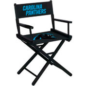 Carolina Panthers Table Height Director Chair