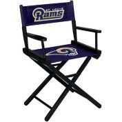 St. Louis Rams Table Height Director Chair