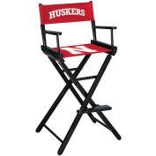 University Of Nebraska Bar Height Director Chair