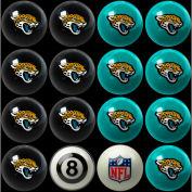 Jacksonville Jaguars Home Vs. Away Billiard Ball Set
