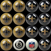 New Orleans Saints Home Vs. Away Billiard Ball Set