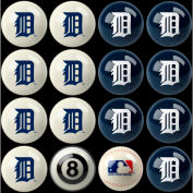 Detroit Tigers Home Vs. Away Billiard Ball Set
