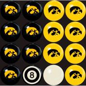 Iowa University Home Vs. Away Billiard Ball Set
