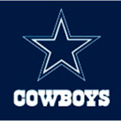 Dallas Cowboys 8'L Billiard Cloth