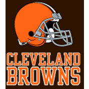 Cleveland Browns 8'L Billiard Cloth