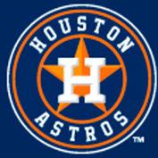 Houston Astros 8'L Pool Table Cloth