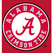 University Of Alabama 8'L Pool Table Cloth