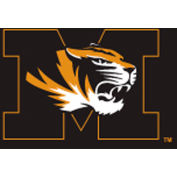 University Of Missouri 8'L Pool Table Cloth