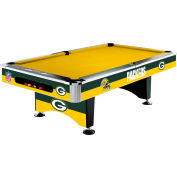 Green Bay Packers 8'L Pool Table