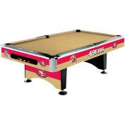 San Francisco 49Ers 8'L Pool Table