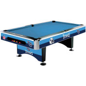 Tennessee Titans 8'L Pool Table