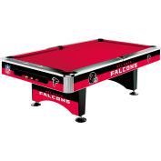 Atlanta Falcons 8'L Pool Table