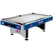 Atlanta Braves 8'L Pool Table
