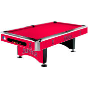 Anaheim Angels 8'L Pool Table