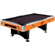 Baltimore Orioles 8'L Pool Table