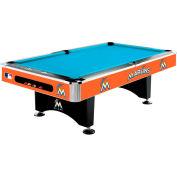 Florida Marlins 8'L Pool Table