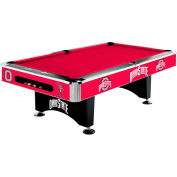 Ohio State 8'L Pool Table