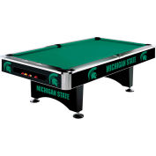 Michigan State 8'L Pool Table