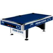 Penn State 8'L Pool Table