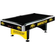 University Of Iowa 8'L Pool Table