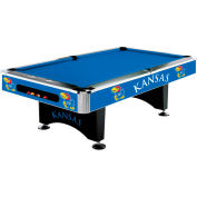 University Of Kansas 8'L Pool Table