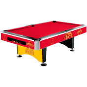 Iowa State University 8'L Pool Table