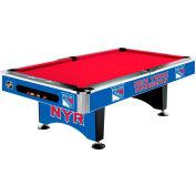 New York Rangers 8'L Pool Table