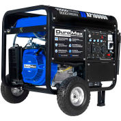 DuroMax XP10000E, 8000 Watts, Portable Generator, Gasoline, Electric/Recoil Start, 120/240V