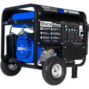 DuroMax XP10000E Gas Generator W/Electric Start & Wheel Kit, 10,000W, 16.0HP