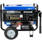 DuroMax XP4400E, 3500 Watts, Portable Generator, Gasoline, Electric/Recoil Start, 120/240V