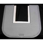 Impact® Commode Mat - Fresh Scent, Black, 1550-5 - Pkg Qty 12