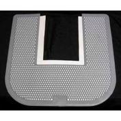 Impact® Commode Mat - Fresh Scent, Black, 1550-5 - Pkg Qty 12