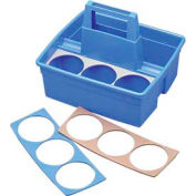 Impact® Maids' Basket; Plastic, Blue - 1802 - Pkg Qty 12