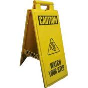 Impact® 2x4® Wet Floor Sign -Spanish/English, 24106 - Pkg Qty 6
