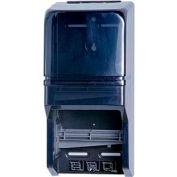 Impact® Clearvu® Double Roll Toilet Tissue Dispenser - Gray, 2519 - Pkg Qty 6