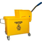 """Impact® Compact Mopping System Combo - 21 Qt. W/ 2"""" Casters, Yellow, 2y/2021-2y - Pkg Qty 2"""