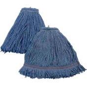 Impact Layflat Screw-Type Cut-End Blend Wet Mop Head-No Tangle, Blue, 32 Oz., 36132 - Pkg Qty 12