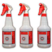 """Impact Products Pre-Printed Spray Alert™ System, Natural/Red/Black, 3-1/2"""" - 5024SS - Pkg Qty 96"""