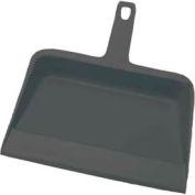 Impact® Dust Pan Value Plus - Black , 710 - Pkg Qty 48