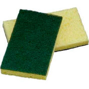 Impact® Cellulose Scrubber Sponge - Medium Duty, 7130p - Pkg Qty 15