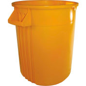 Impact® Gator® Container - 32 Gallon, Yellow, 7732-16 - Pkg Qty 6