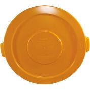 Impact® Gator® Lid - 32 Gallon, Yellow, 7733-16 - Pkg Qty 12