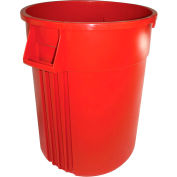 Impact® Gator® Container - 44 Gallon, Red, 7744-6 - Pkg Qty 4