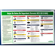 Impact® GHS/HCS Poster Safety Data Sheet - Spanish - 799073